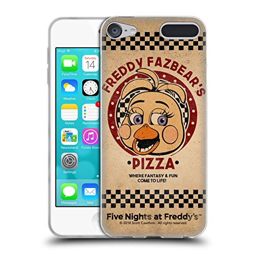 Official Five Nights At Freddy's Toy Chica Freddy Fazbear's Pizza Soft Gel Case for Apple iPod Touch 6G 6th Gen