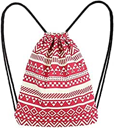 PAOLIAN Bolsos Bolsos mochila para Mujer Bolsas de cuerdas Bolsos de mano  de Viaje 2018 Moda Lona 75eea1e9dfb6
