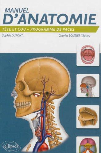 Manuel d'Anatomie Tête & Cou Programme de PACES