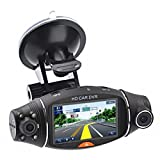 Best Dash Cameras - SMILEDRIVE® Dual Rotatable Lens Car Dash Camera Vehicle Review