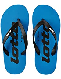 Lotto Men's Sky Blue Hawaii House Slippers
