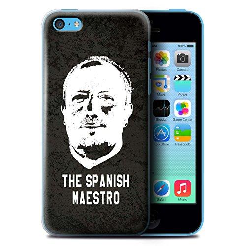 Offiziell Newcastle United FC Hülle / Case für Apple iPhone 5C / Pack 8pcs Muster / NUFC Rafa Benítez Kollektion Spanisch Maestro