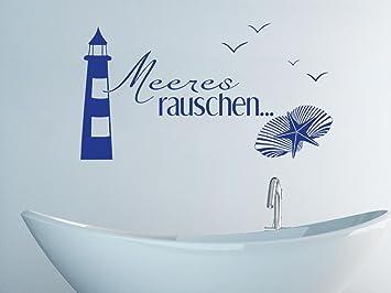 Charming Graz Design 650166_30_049 Wandtattoo Deko Für Bad Sprüche Wand Aufkleber  Fliesentattoo Meeres Rauschen Maritim Mit Leuchtturm Home Design Ideas