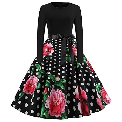 ODRD Clearance Sale【S-2XL】 Weihnachten Kleider Damen Kleid Xmas -