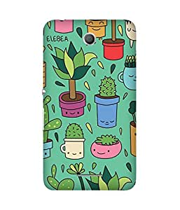 Cactus Graphic Back Cover Case for Sony Xperia E4