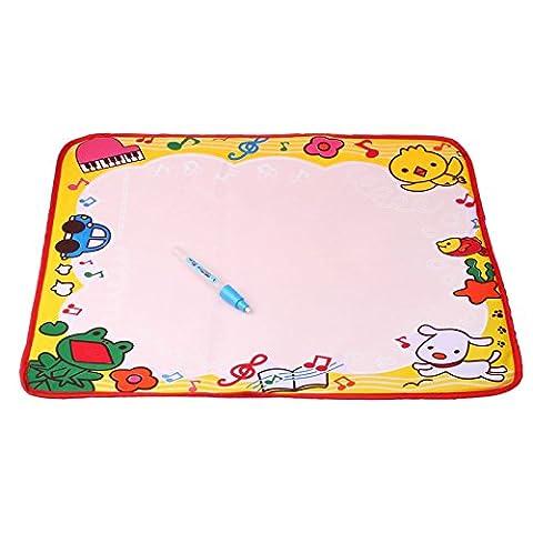 Covermason 48 * 36 CM Dessin Eau Peinture conseil de rédaction Mat Magic Pen Doodle Kids Toy cadeau L