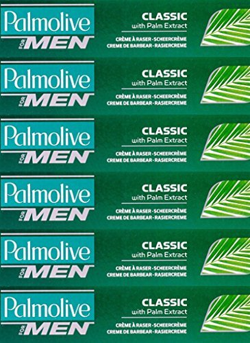 Palmolive Classic Lather Shave Cream 100ml x 6 Packs by Palmolive -