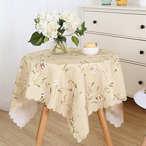 SONGHJ Polyester Baumwolle Tischdecke Wasserdicht und ölbeständig Küche Wohnkultur Tischdecke Halloween Geburtstagsparty Tischdecke D 120x180cm -