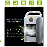 Climatiseurs portables, Refroidisseur D'air USB Climatiseur 3 EN 1 Réglable Air...