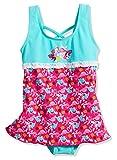 Playshoes Baby-Mädchen Uv-Schutz Rock Flamingo Badeanzug, (Türkis 15), 86 (Herstellergröße: 86/92)