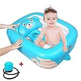 Aufblasbare Baby Badewanne Große Kapazität Rutschfeste Badewanne Tragbare Reise Dusche