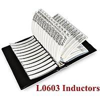 onesky-uk [L0603] SMD Induktor (1nh-22uh) 52Wert X 50PCS Combo Probe Buch [Genauigkeit Toleranz 5%] [2600PCS]