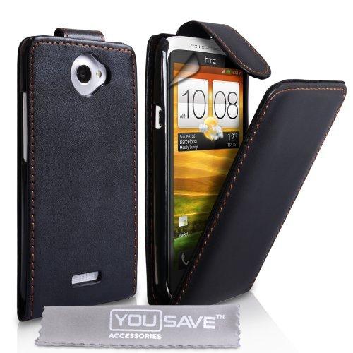 yousave-accessories-ht-da01-z516-custodia-in-pelle-per-htc-one-x-colore-nero
