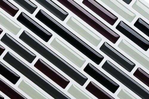 Fancy effetto mosaico cm adesivi per piastrelle