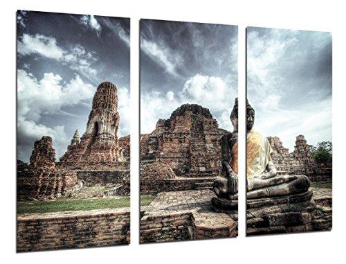 Cuadro Moderno Fotografico Buda, Buddha, Relajacion, Zen, 97 x 62 cm ref. 26260