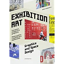 Exhibition art. Space graphics and design