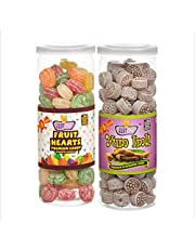 JUSTONE Fruit Hearts and Yum Imli Candy, 460 g