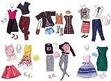 Enlarge toy image: Barbie Fashion 2 Clothes+Accessories Pack Assortment (Mattel FCT81)