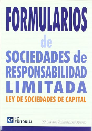 Formularios de sociedades de responsabilidad limitada por María Lorena Salamanca Cuevas