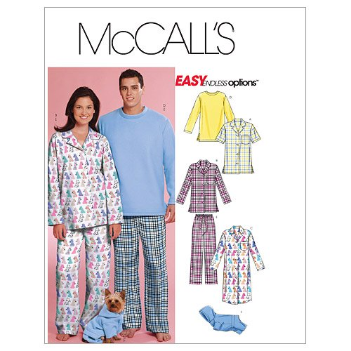 mccalls-patterns-m5992-size-z-large-extra-large-misses-mens-teen-boys-tops-nightshirt-pants-and-swea