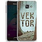 Samsung Galaxy A3 (2016) Housse Étui Protection Coque Forêt Arbres VEKTOR