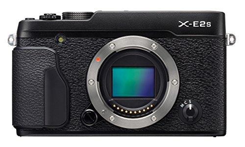"""Fujifilm X-E2S - Cuerpo de cámara EVIL de 16.3 MP (sensor X-Trans CMOS II, sistema limpieza sensor, pantalla de 3"""", medición TTL de 256 zonas, WiFi), color negro"""