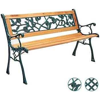 Amazing Harbour Housewares Garden Bench Coated Steel Norwegian Gamerscity Chair Design For Home Gamerscityorg