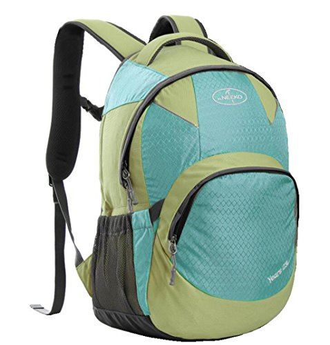 Spalla uomini e donne borsa borse alpinismo all'aperto borsa da viaggio di corsa del sacchetto 23 litri ( Colore : Khaki , dimensioni : 23L ) Blu