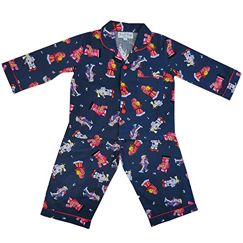 powell-craft-big-boys-cotton-robot-pyjamas-navy-4-5-years