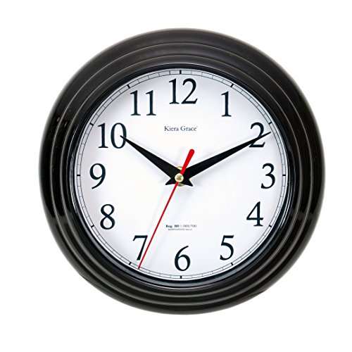 Kiera Grace Essential Horloge Murale, 20,3 cm 8\