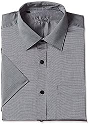 Raymond Mens Formal Shirt (8907575099076_RMSY06017-G4_42_Medium Grey)