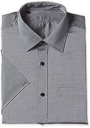 Raymond Mens Formal Shirt (8907575099076_RMSY06017-G4_42_Medium Grey)