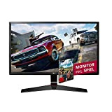 LG 24MP59G-P Ecran PC LED IPS - 24'' - 1920 x 1080 - 250cd/m² - 1ms (avec Motion Blur Reduction) - Noir  - VGA, HDMI, DP