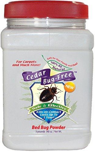 Bed Bug polvere-cedro bug-free cimici polvere. Uccide cimici in Carpet-1,4kilogram di cedro bug-free