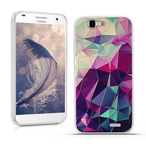 Huawei Ascend G7 (L01 L03 C199) Hülle, Fubaoda 3D Erleichterung Fantasie Muster TPU Case Schutzhülle Silikon Case für Huawei Ascend G7 (L01 L03 C199)