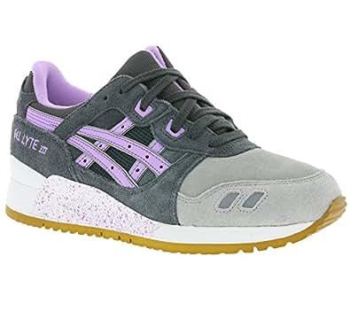 Asics Baskets de course Gel Lyte III pour femme en gris