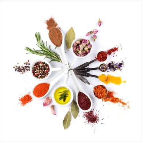 Lebensmittel Anis Öl (Poster 50 x 50 cm: Gewürze und Kräuter Uhr von Editors Choice - hochwertiger Kunstdruck, neues Kunstposter)