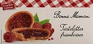 Bonne-Maman Tartelettes à la framboise 9 sachets individuels