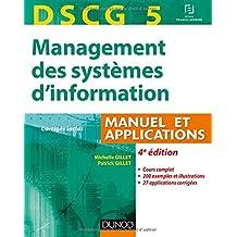 DSCG 5 - Management des systèmes d'information - 4e éd. - Manuel et applications