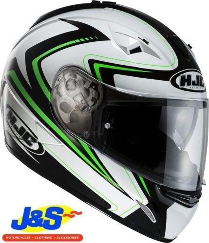 HJC Helmets Hjc tr-1Blade moto casco Touring visiera interna verde Kawasaki J & S