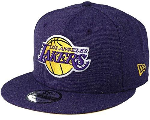New Era Herren Caps/Snapback Cap Team Heather LA Lakers Violet S/M Lila New Era