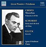 Chopin : Mazurkas - Gluck, Schubert