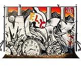 lylycty 7x 150Cartoon Stil Hintergrund Wecker Bleistift Mountain Fotografie Hintergrund und Fotografie Hintergrund Requisiten lyge1007