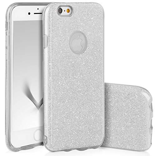 4258acfb2e1 QULT Carcasa para Móvil Compatible con iPhone 6S Plus, iPhone 6 Plus Funda  Silicona Dura