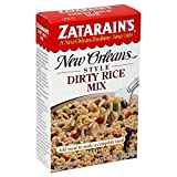 Zatarain's New Orleans Style Dirty Rice Mix 8.0 Oz (Pack of 6)
