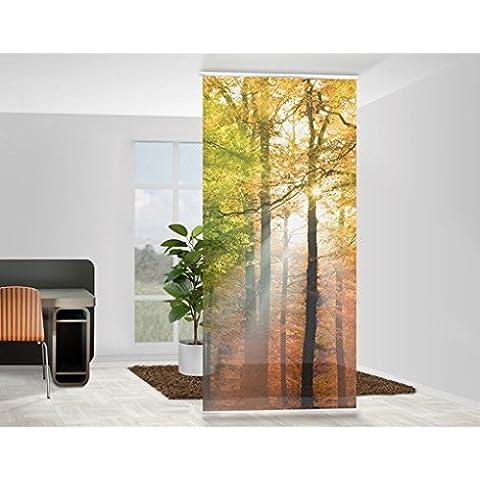 Panel japones Morning Light, Tamaño: 250 x 120cm, panel japonés, paneles japoneses, separadores de ambientes, cortina, paneles japoneses cortina,