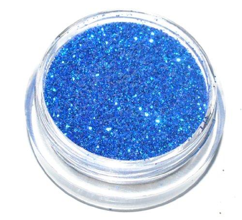 Dark Blue Sparkle Eye Shadow Loose Glitter Dust Body Face Nail Art Party Shimmer Make-Up by Kiara H&B (Eye Dust Sparkle)
