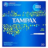 Tampax Blue Box Super con Applicatore- 30 Tamponi