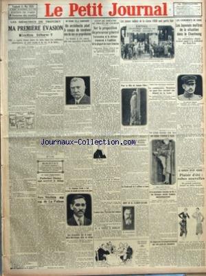 PETIT JOURNAL (LE) [No 23857] du 11/05/1928 - LES ...