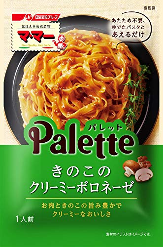Ma Ma Palette Mushroom Creamy Bolognese 80 g × 8 Japan